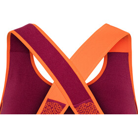 La Sportiva Focus Paita Naiset, beet/lily orange